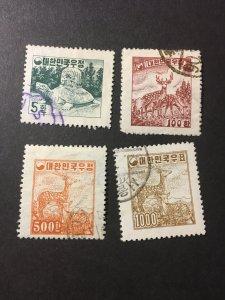 Korea sc 196-199 u comp set
