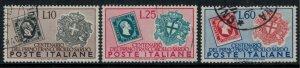 Italy #587-9  CV $19.00