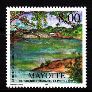Mayotte MNH Scott #120 8fr Combani Dam