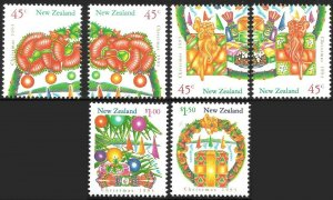 New Zealand # 1164 - 69 Mint Never Hinged