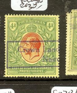 EAST AFRICA UGANDA (B1702B) KGV 4R  SG56  FISCAL USED  VFU