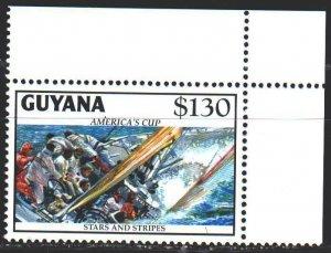 Guyana. 1992. 4007. Sailing. MNH.