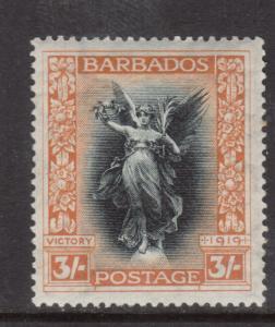 Barbados #150 Mint Extra Fine Original Gum Hinged