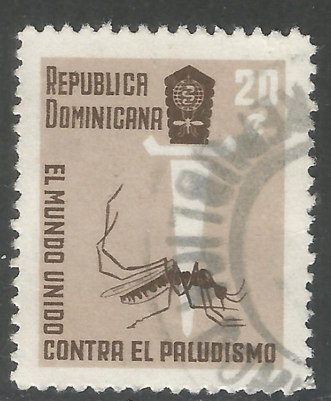 DOMINICAN REPUBLIC 559 VFU INSECT Y167-1