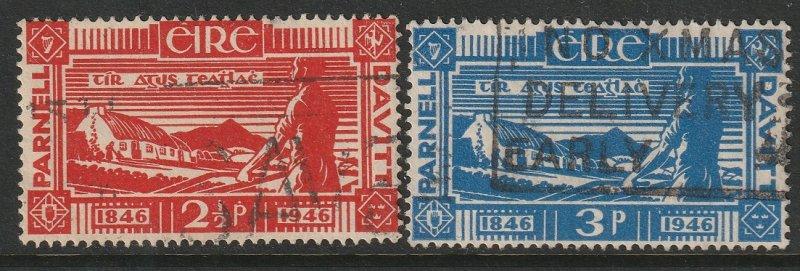 Ireland 133-134 complete set used