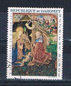 Dahomey C46 Used Nativity 1966 (HV0152)