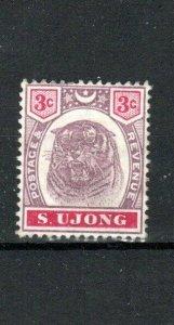 Malaysia - Negri Sembilan (Sungei Ujong) 1895 3c MLH
