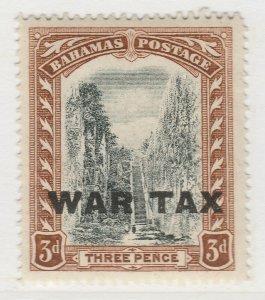 British Colony Bahamas War Tax 1919 Wmk Mult Crown CA 3d MH* Stamp A22P15F8691