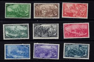 Italy 498-506 Hinged 1948 no low values