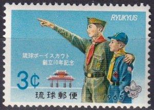 Ryukyu Is #130   MNH  (S10152)