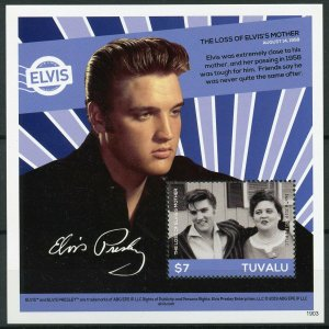 Tuvalu 2019 MNH Elvis Presley His Life in Stamps 1v S/S II Music Celebrities