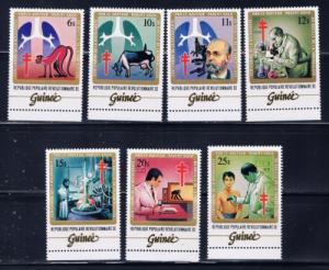 Guinea 852-58 1983 Dr Robert Koch