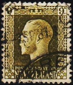 New Zealand. 1915 9d S.G.429  Fine Used