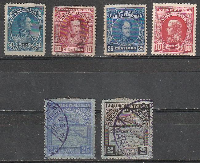 #82,232,251,263a,C20,C30 Venezuela Used & Mint OGH