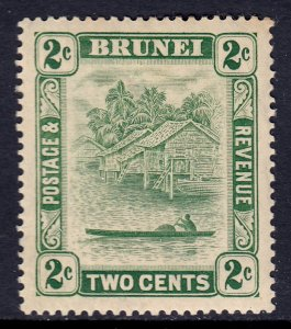 Brunei - Scott #45 - MH - Toning, pencil on reverse - SCV $2.40