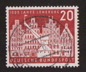 Germany  #741  used  1956  Luneburg