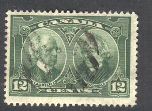 CANADA 147 USED LAURIER & MACDONALD 1927