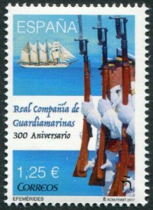 HERRICKSTAMP NEW ISSUES SPAIN Sc.# 4198 Royal Company of Guardiamarinas