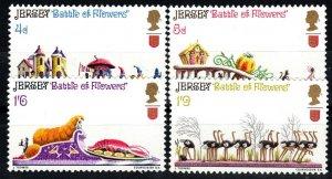 Jersey #30-33 MNH CV $5.00 (X908)