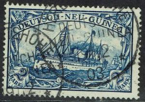 GERMAN NEW GUINEA 1901 YACHT 2MK USED