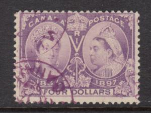 Canada #64 Used With Magenta Date Cancels