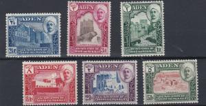 ADEN  MUKALLA    1942    S G  6 - 11    VALUES  TO 5R   MNH