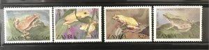 Zambia 1989 #462-5, MNH CV $4.55