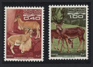 Algeria Protected Animals 2v SG#520-521