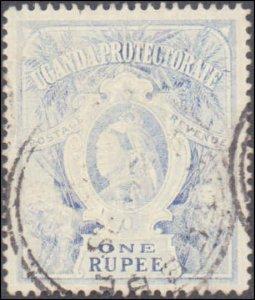 Uganda  #75, Incomplete Set, 1899-1902, Used