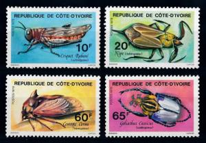 [65613] Ivory Coast 1978 Insects  MLH