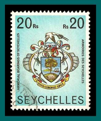 Seychelles 1978 Coat of Arms, used  #403,SG419A