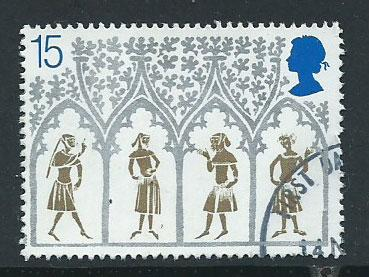 GB QE II   SG 1462 VFU from mailed FDC