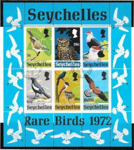 BIRDS - SEYCHELLES #304a   CANCELLED