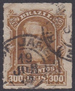 Brazil Sc #75 Used