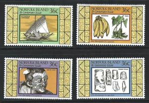 Norfolk Island    MNH SC#  397 - 400