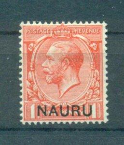Nauru sc# 2 mh cat value $2.50