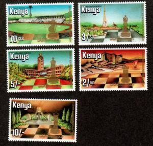 Kenya  319-323 Mint NH MNH!