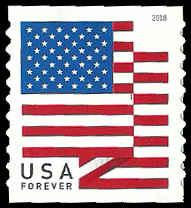 PCBstamps   US #5260 {50c}Flag, MNH, coil, AP, (PCB-2)