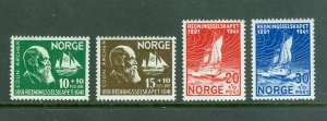 Norway. 1941 Set. Norwegian Lifeboat Society 50 Year. MLH.