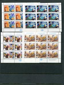 Yugoslavia 1988/89  Europa sheets Mint VF NH