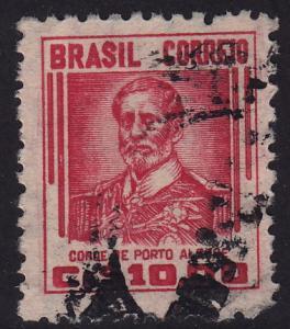 Brazil - 1947 - Scott #668 - used - Count of Porto Alegre