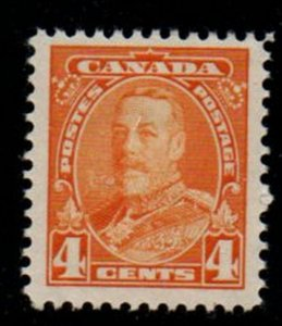 Canada Sc 220 1935 4 c George V stamp mint NH
