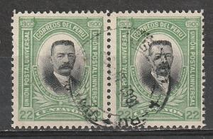#160 Peru Used Pair