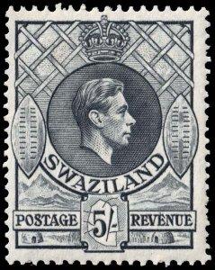 Swaziland - Scott 36 - Mint-Hinged - Perf 13.5 x 14