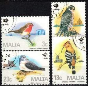 Malta #690-3  F-VF Used CV $10.80 (X5703)