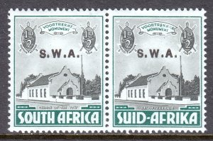 South West Africa - Scott #B1 - MH - Minor crease LL, left stamp - SCV $3.00