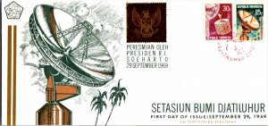 Indonesia, Worldwide First Day Cover, Space