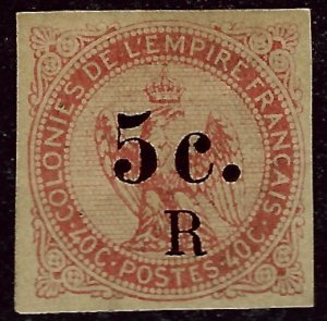Reunion Sc #3 Mint VF  SCV$400...French Colonies are Hot!