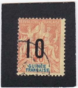 French  Guinea  #   53   used