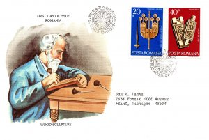 Romania, Worldwide First Day Cover
